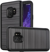 Samsung Galaxy S9 Brushed Hybrid Case