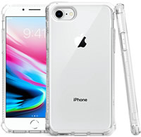 iPhone 7,8 Clear Shockproof Case